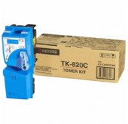 TONER CYAN KYOCERA FS-C8100DN - 7000 pages - TK-820C