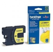 CARTOUCHE BROTHER JAUNE DCP145CMFC290C - LC-980Y5.