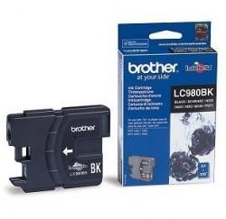 CARTOUCHE BROTHER NOIRE DCP145C/MFC290C - LC-980BK