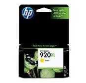 CARTOUCHE HP JAUNE OFFICEJET 6000/6500/7000 - N°920XL - 700 pages - CD974A - CD974AE