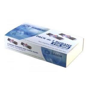 RUBAN TRANSFERT SAGEM PACK DE 2 - series 2300/2600/2700