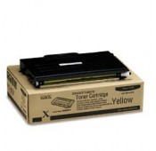TONER XEROX JAUNE PHASER 6100 - 2000PAGES - 106R00678