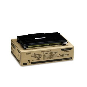 TONER XEROX JAUNE PHASER 6100 - 2000PAGES