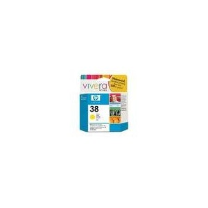 CARTOUCHE HP JAUNE PHOTOSMART PRO B9180/GP - No38 - 69ml