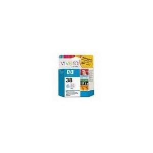 CARTOUCHE HP CYAN CLAIR PHOTOSMART PRO B9180/GP - No38 - 69ml
