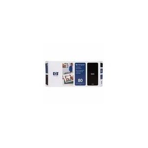 TETE D'IMPRESSION HP NOIRE DesignJet 1050C/1055CM - No80