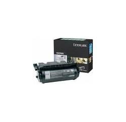 TONER LEXMARK NOIR T630/632/634 - 32000PAGES - 0012A7465