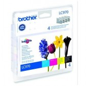PACK BROTHER NOIR/CYAN/MAGENTA/JAUNE DCP135C/150C/770W