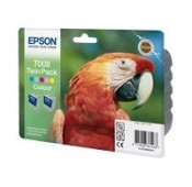 CARTOUCHE EPSON COULEUR STYLUS PHOTO 790 - DOUBLE PACK - C13T084003