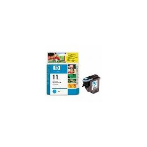TETE D'IMPRESSION HP CYAN BUSINESS INKJET2200SERIES/2600 - DESIGN JET SERIES500/800 -No11