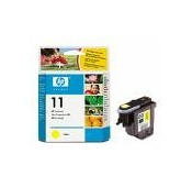 TETE D'IMPRESSION HP JAUNE BUSINESS INKJET, 2200, 2600 - DESIGNJET 500, 800 - No11 - C4813A