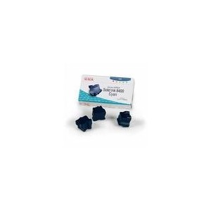 TONER XEROX CYAN PHASER 8400 - 3 BATONNETS