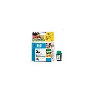 CARTOUCHE HP COULEUR DESKJET 310,320,340,400,400L,420C,540,550C,560C - 19.5ML