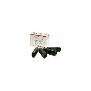 PACK TONER OKI NOIR/CYAN/MAGENTA/JAUNE C5250/5450/5510/5540