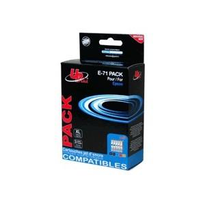 PACK CARTOUCHES Compatible EPSON 2 cartouches Noires et 1 cartouche CYAN/MAG/JAUNE -D78/DX4000/5000/6050