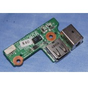 HP DV6000 USB/DC Jack Power Board 431446-001 DAAT8TB18A1