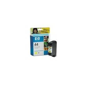 CARTOUCHE HP JAUNE DESIGNJET 450C/455CA/350C/755CM/750C Plus/750C - No44