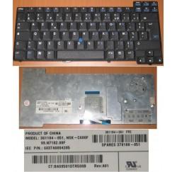 CLAVIER AZERTY NEUF HP Compaq NC6200 NX6200 series - 99.N7182.00F, 361184-051 , 378188-051
