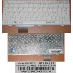 CLAVIER AZERTY ASUS EEEPC 900 901 - K001262Q1 - 0KNA-022FR02 - BLANC