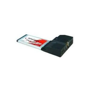 EXPRESSCARD LYCOM COMBO 2 Ports IEEE 1394b + 1 Port IEEE 1394a - EK-107