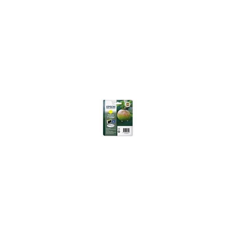 cartouche epson jaune stylus sx425w 7ml c13t129344010. Black Bedroom Furniture Sets. Home Design Ideas