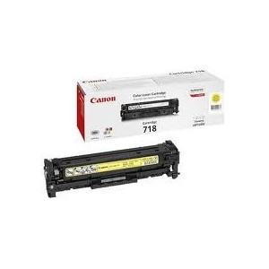 Toner Canon Jaune LBP720Cdn, MF 8330, MF 8350 - EP-718Y - 2900 pages