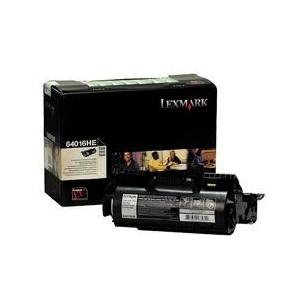TONER LEXMARK NOIR T640, 642, 644 Grande Capacité - 64016HE - 21000 pages