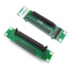 ADAPTATEUR CONVERTISSEUR SCSI SCA80F vers MiniD68F LVD - TL511710 - Neuf Gar 1 an