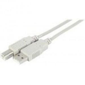 CABLE USB2.0 A/B - M/M - 50CM