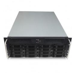 Serveur Stockage Rack 4U - 16 Disques durs HotSwap SAS/SATA - Gar.3 ans retour fournisseur