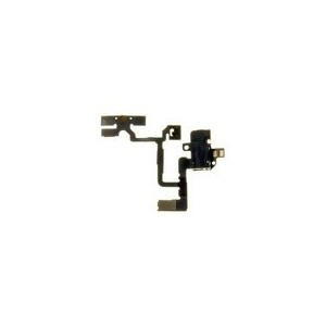CABLE AUDIO JACK MOBILE APPLE IPHONE 4 - NOIR - TLMSPP1614