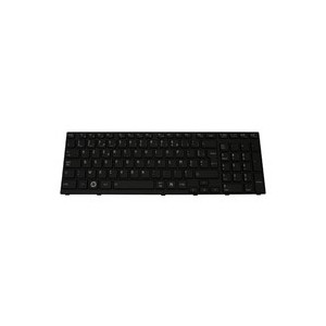 CLAVIER AZERTY NEUF TOSHIBA SATELLITE A660 series - K000102500