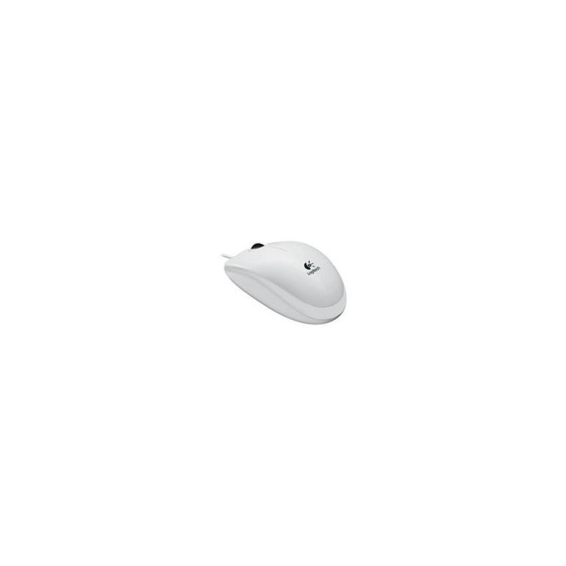 souris usb b 110 optical mouse blanche s2i informatique. Black Bedroom Furniture Sets. Home Design Ideas