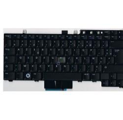 CLAVIER AZERTY DELL Latitude E5400, E5410, E5500 - RX208 - PK130AF2A13- Gar.3 mois - Dual Pointing