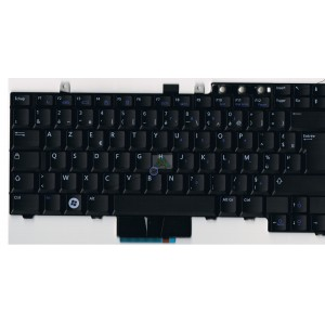 Clavier AZERTY DELL Latitude E5400, E5410, E5500 - RX208 - Gar.3 mois - Dual Pointing