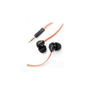 Ecouteurs Veho 360 Stereo Noir/Orange