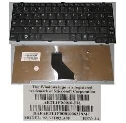 CLAVIER AZERTY NEUF Toshiba Portege T110, Satellite Pro T110, Mini Nb200, NB250, NB255, NB300 - NSK-TKA0F - 9Z.N3D82.A0F - NOIR