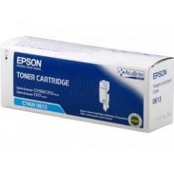 TONER EPSON CYAN ACULASER C1700, C1750N, C1750W GRANDE CAPACITE - 1400PAGES - C13S050613