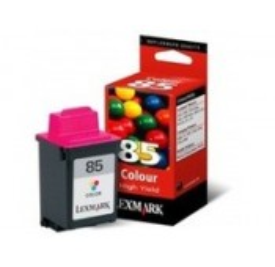 CARTOUCHE NOIRE LEXMARK Color Jetprinter, Inkjet - 12A1985