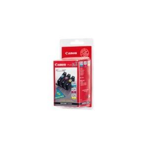 PACK CARTOUCHES CANON Cyan, Magenta, Jaune PIXMA IP4850, MG5150, MG6100, MG6150, MG8150, MX885 - CLI-526C/M/Y - 4541B006