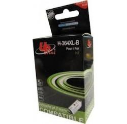 CARTOUCHE Compatible HP NOIRE N°364xl - CB321EE - 12ml