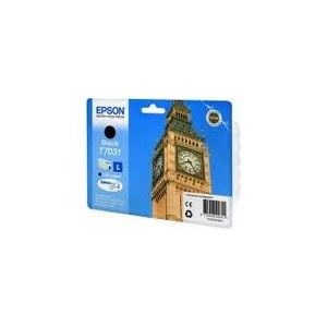 CARTOUCHE EPSON NOIRE WorkForce Pro WP-4015DN - 1200 PAGES - C13T070314010