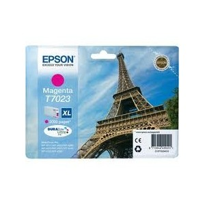 CARTOUCHE EPSON MAGENTA WorkForce Pro WP-4015DN - XL 2000 PAGES - C13T70234010