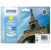 CARTOUCHE EPSON JAUNE WorkForce Pro WP-4015DN - XL 2000 PAGES - C13T70244010