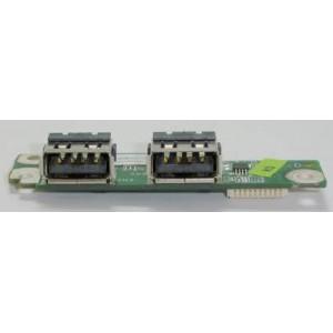 CARTE FILLE 2 PORTS USB Occasion ACER ASPIRE 6530, 6530G - 55.ASR07.003 - DA0ZK3TB6D0