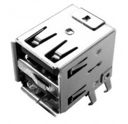 CONNECTEUR USB DOUBLE - FEMELLE - DIP 90 SPEC -