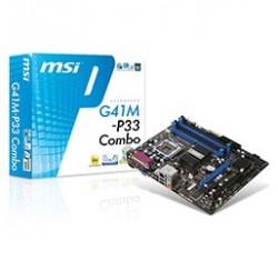 Carte mère MSI G41M-P33 Combo - Gar.1 an