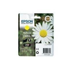 CARTOUCHE EPSON JAUNE N°18XL XP-102, XP-205, XP-405 - C13T18144010 - 6.6ml, ~450pages, Grande Capacité XL