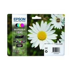 PACK CARTOUCHES EPSON Noire, Cyan, Magenta, Jaune - T1816 - XL Grande Capacité - C13T18164010