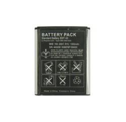 BATTERIE pour Sony Ericsson Mobile Elm, Hazel, U100i, Yari - MBP-SOER1012, BST-43 - Li-ion 3.7V 1000mAh Noire